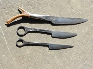 Ensemble de couteaux celtes -