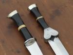 Epées courtes med-fan -